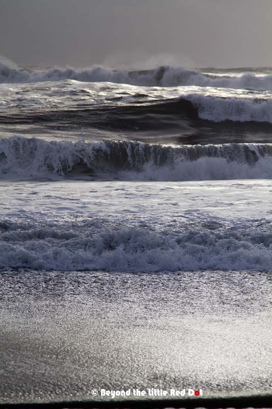 And to see the huge waves of the North Atlantic smashing into the beach is awe inspiring.