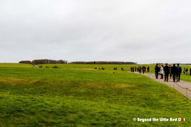 The long walk to Stonehenge.