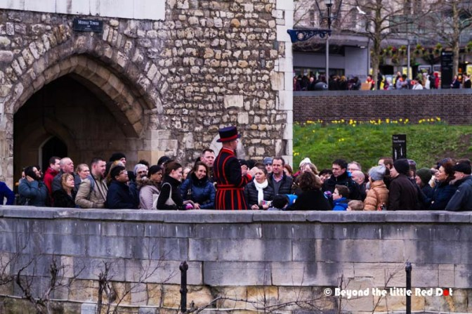 You can visit the Tower on your own, or join any of the guided tours conducted by the Yeoman Warders. If this your first time to the Tower, I would advise you to join the Yeoman tour. They make the tour entertaining with their stories of the history and characters that stayed here.