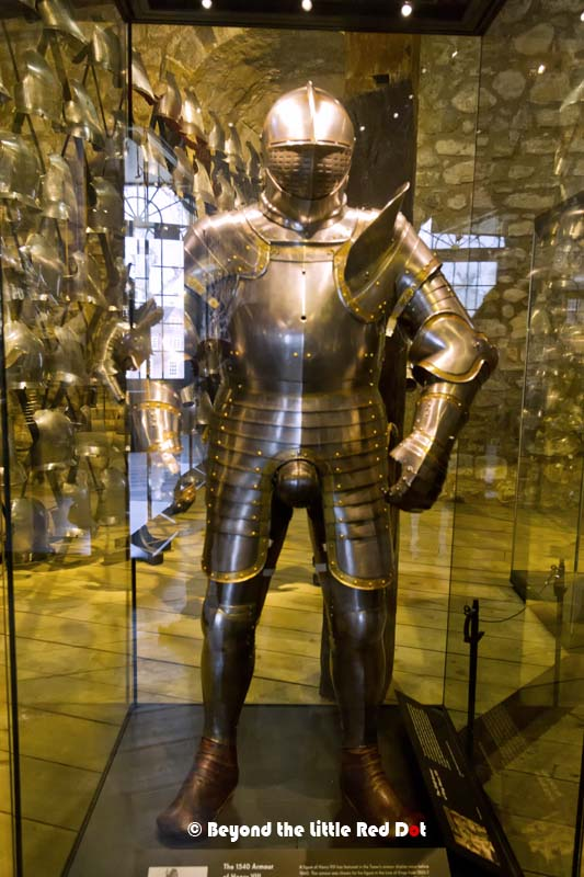 The personal armour of King Henry VIII. He always wanted everyone to know who had the biggest dick around.
