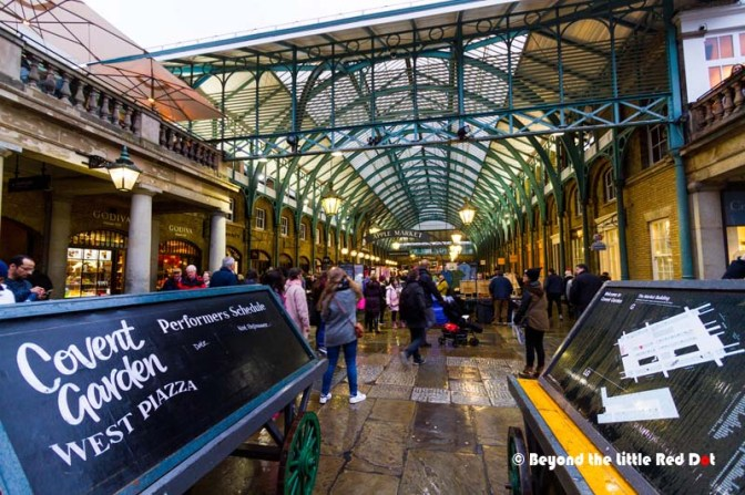 For flea and street markets in London, Covent Garden is one of the largest.