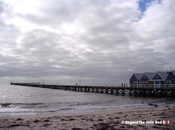 The Busselton Jetty. It's a really long walk to the end point.