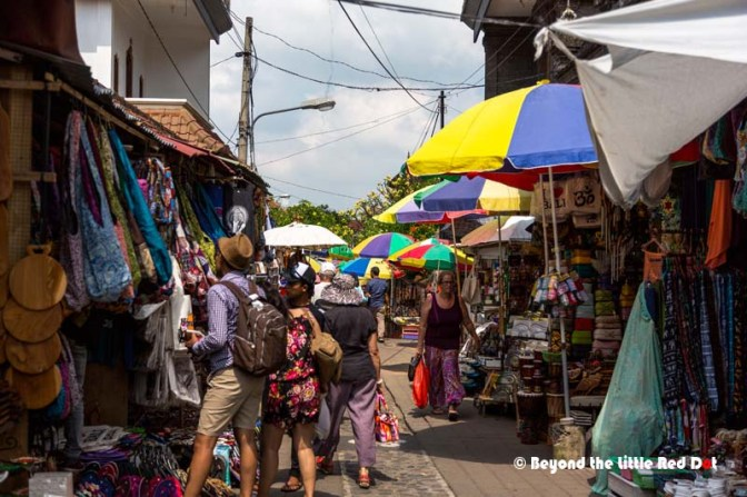 We passed by this street market next to Ubud Market.