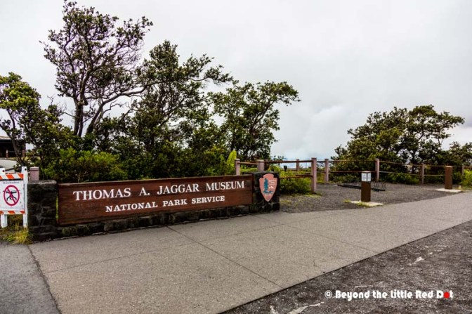 We came back to the Jagger Museum where we were last night to view Kilauea crater.