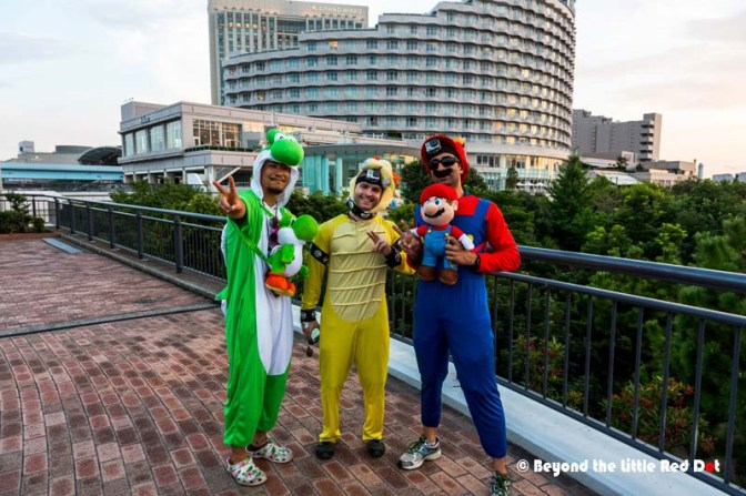 How about saying hello to the Mario Brothers?